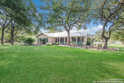 Bulverde Single Family Home For Sale: 6249 Circle Oak Dr