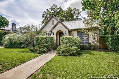 San Antonio Single Family Home For Sale: 102 E Hermosa Dr