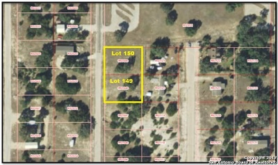 Medina County Residential Lots & Land For Sale: Lot 149 & 150 Pr 1517
