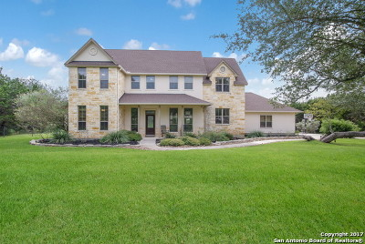 Bulverde Single Family Home For Sale: 859 Indigo Run Dr