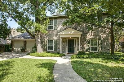 San Antonio Single Family Home For Sale: 8306 Country Side Dr