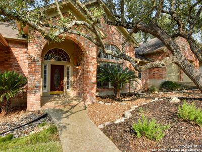 San Antonio Single Family Home Price Change: 18323 Apache Springs Dr