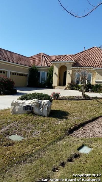 San Antonio Single Family Home For Sale: 17815 Wild Basin