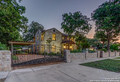 San Antonio Single Family Home Back on Market: 2068 W Mistletoe Ave