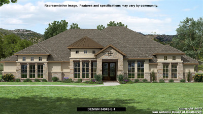 New Braunfels Single Family Home For Sale: 2370 Appellation