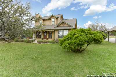 Boerne Single Family Home For Sale: 652a Seven Sisters