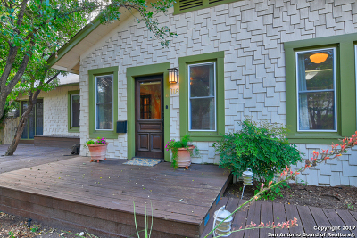 Alamo Heights Single Family Home For Sale: 118 Routt St