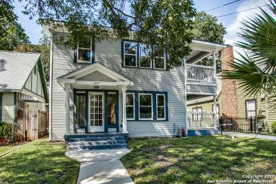 San Antonio Single Family Home Back on Market: 435 W Gramercy Pl