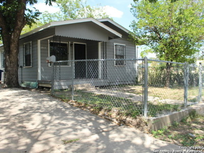 Bexar County Single Family Home For Sale: 2919 W Houston St