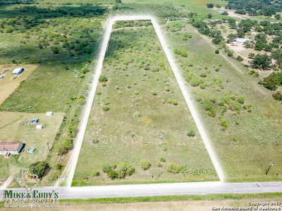 Medina County Residential Lots & Land New: 1183 County Road 7711 11 Acre-Tract 1