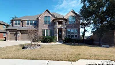 San Antonio Single Family Home New: 25644 Santolina