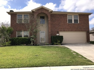 Cibolo Single Family Home New: 113 Hidden Mesa