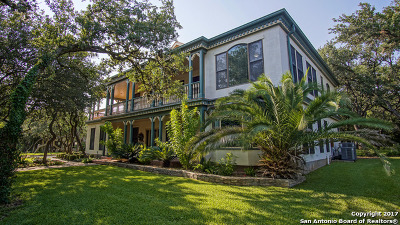 Helotes Single Family Home New: 11515 Fm 1560 N