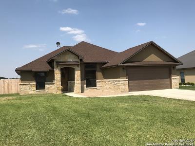 Atascosa County Single Family Home New: 1820 Vista View Dr
