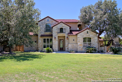 Boerne Single Family Home New: 8132 Colonial Woods