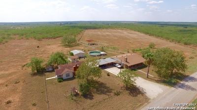 Jourdanton Farm & Ranch For Sale: 5985 Bluntzer Rd