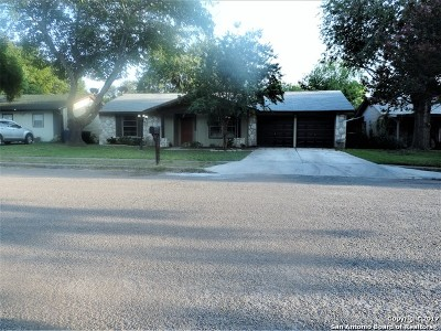 San Antonio Single Family Home Price Change: 6822 Spring Rose St