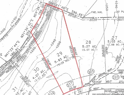 Boerne Residential Lots & Land New: 227 Greystone Cir