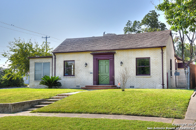 San Antonio Single Family Home Back on Market: 1650 Schley Ave
