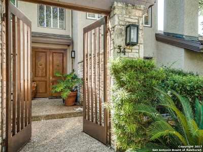 San Antonio Condo/Townhouse Price Change: 8000 Donore Pl #34