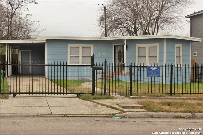 San Antonio Single Family Home Back on Market: 1128 Edison Dr