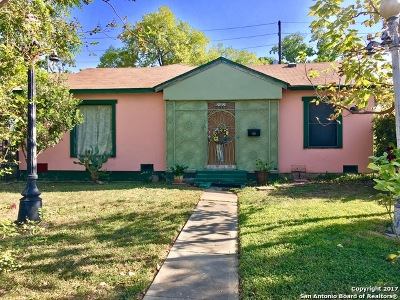 Bexar County Single Family Home Price Change: 2402 W Magnolia Ave