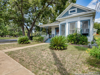 Bexar County Single Family Home New: 217 W Johnson