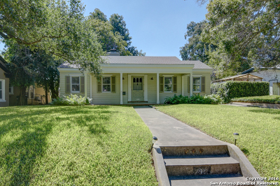 Alamo Heights Rental New: 212 Rosemary Ave