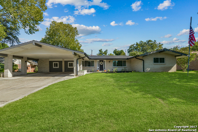 Single Family Home For Sale: 417 Windcrest Dr