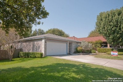 Bexar County Single Family Home New: 10230 Cedarbend Dr