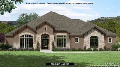 New Braunfels Single Family Home For Sale: 1031 Napoli