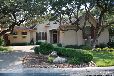 Fair Oaks Ranch Single Family Home Price Change: 8523 Northview Pass
