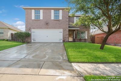 Converse Single Family Home New: 7422 Copper Lk