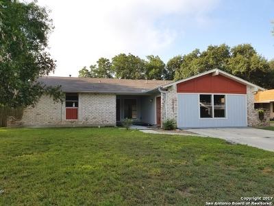 Kirby Single Family Home For Sale: 4842 Binz Engleman Rd