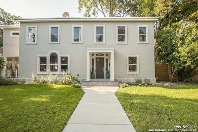 San Antonio Single Family Home New: 426 W Gramercy Pl