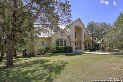 Boerne Single Family Home New: 117 Park Ridge