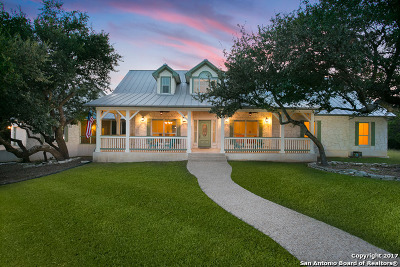 San Antonio Single Family Home New: 25626 Gladiator Ln