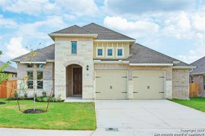 Cibolo Single Family Home Price Change: 832 Silver Fox