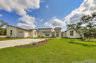 Boerne Single Family Home New: 105 Lajitas