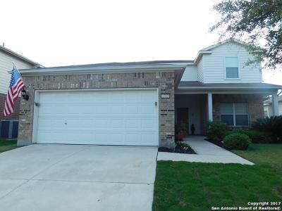 Schertz Single Family Home New: 1313 Fields Way