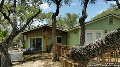 Bandera County Single Family Home For Sale: 141 Church Cove @ Mtn
