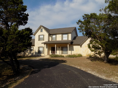 Boerne Single Family Home New: 137b Spanish Pass Rd