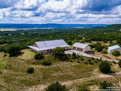 Bandera County Farm & Ranch New: 27744 Fm 470 Little Crk