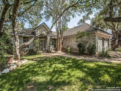 San Antonio Single Family Home New: 16218 San Dominique
