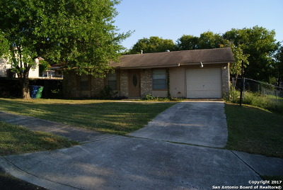 San Antonio TX Single Family Home New: $105,000