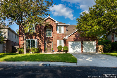 San Antonio Single Family Home New: 16306 Chuckwagon