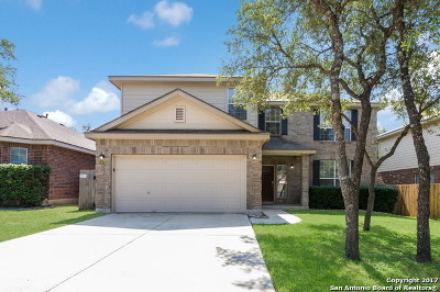 Helotes Single Family Home New: 8626 Cantua Crk