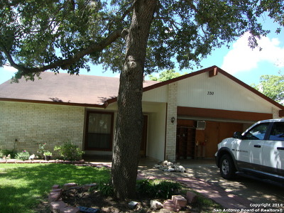 Converse Single Family Home New: 330 Renee Dr