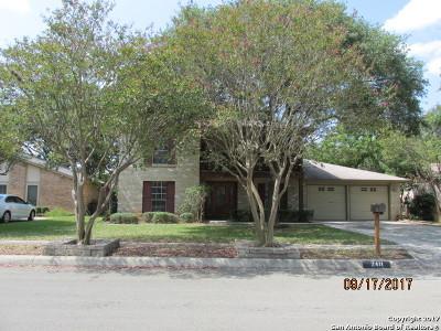 San Antonio Single Family Home New: 2411 Wilderness Wood St