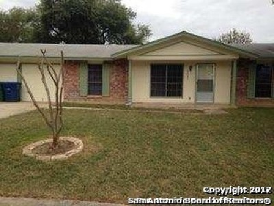San Antonio Single Family Home For Sale: 9631 Boonsboro Dr
